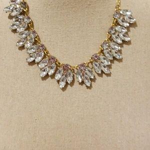Jewelry - Brass Crystal Statement Necklace
